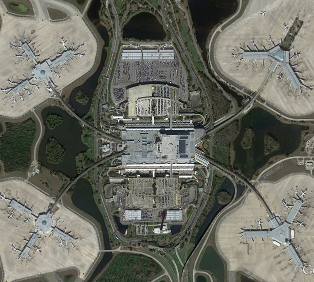 Aerial Photo of MCO