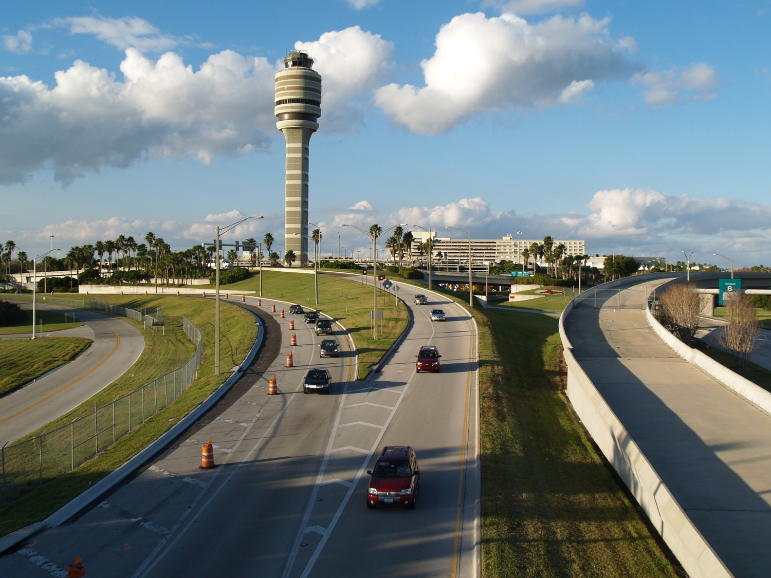 FAA Tower/Terminal South Exit
