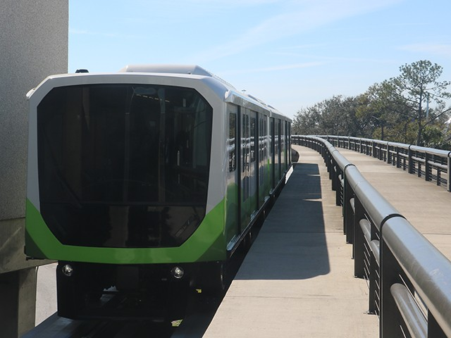New APM Shuttle Train
