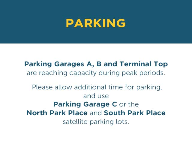 Parking Announcement
