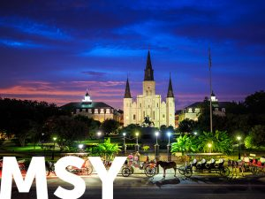 New Orleans, LA (MSY)