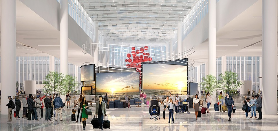 South Terminal Town Square Rendering