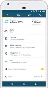 MCO App - Flight Information