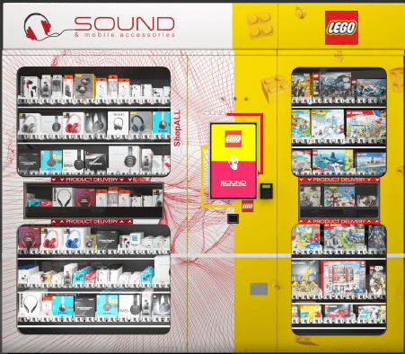 Sound/Mobile Accessories & Lego Automated Retail Until