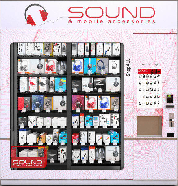 Sound & Mobile Accessories Automated Retail Until