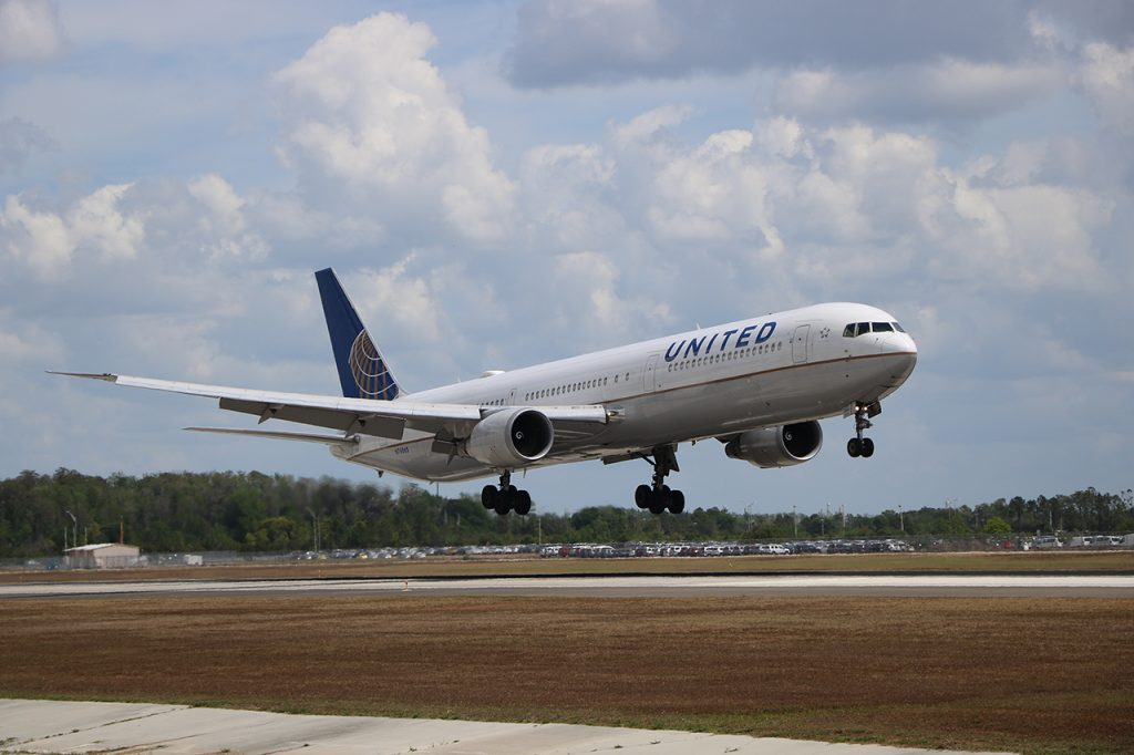 Orlando International Airport Gets Increased United Airlines Service to Boston, Cleveland and New York