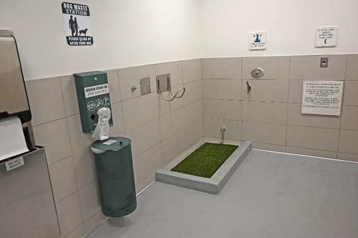 Service Animal Relief Areas being added