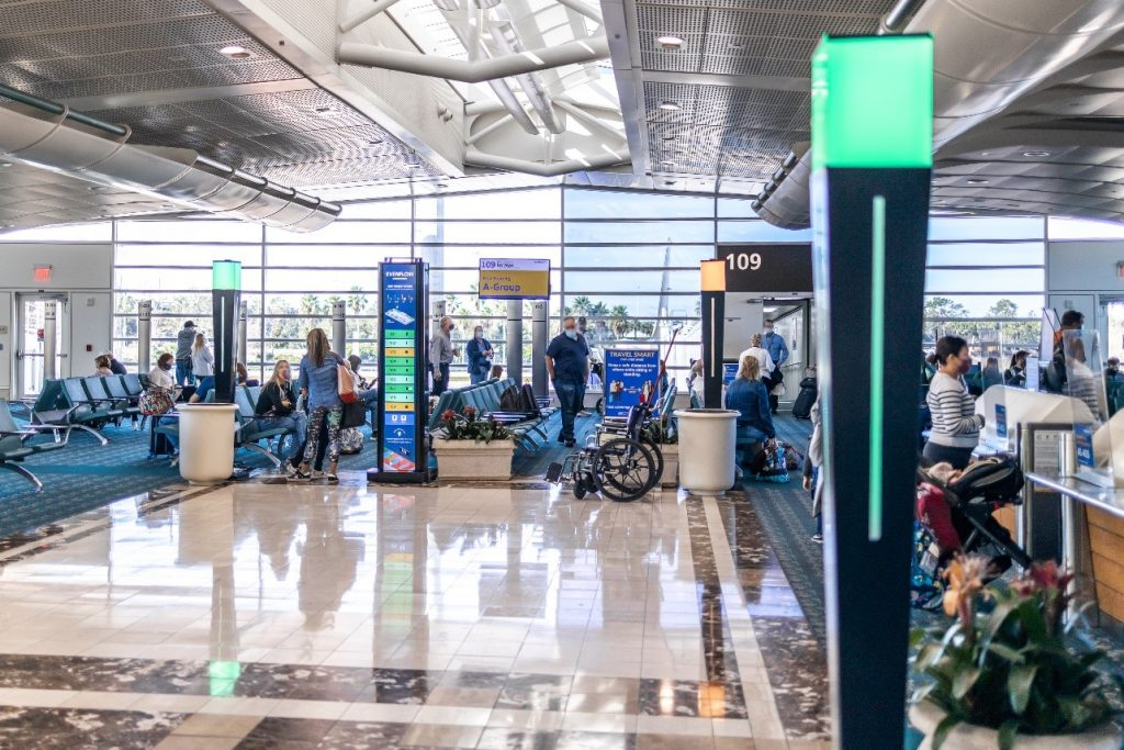 Crowd density monitoring system being tested at MCO