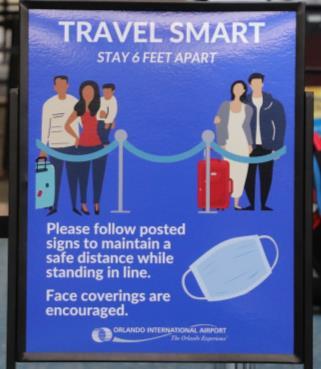 Travel Smart Signage