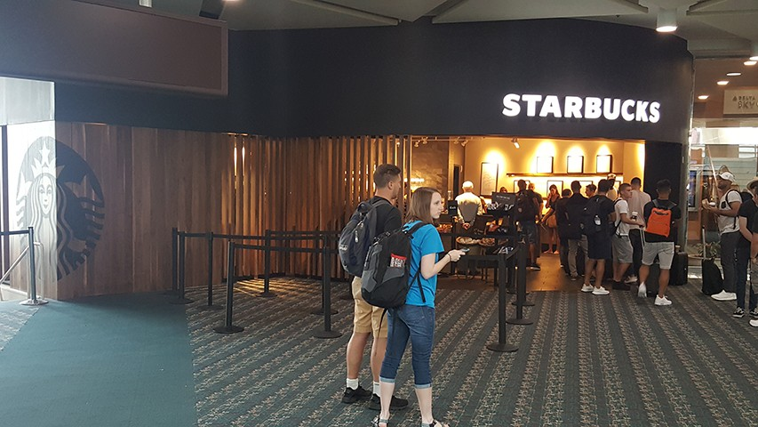 Starbucks - Gates 70-99